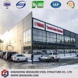 Exposición caliente pasillo del coche del acero estructural 4s de la luz del palmo grande