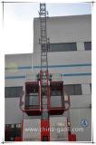 Elevador do edifício da qualidade Sc200 de Gaoli/grua de confiança da construção