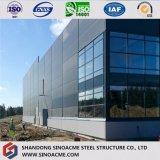 Construction préfabriquée de structure métallique de modèle de qualité jetée/construction /Warehouse