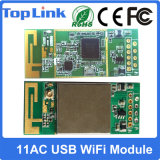 802.11AC 433Mbpsのスマートなコントローラのためのデュアルバンド2.4GHz/5GHz高速無線電信WiFi USBのモジュール