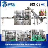 Da cerveja automática do vinho do frasco de vidro de China máquina tampando de enchimento