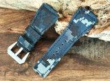 Correa de reloj de la tela de Oxford (color del camuflaje)