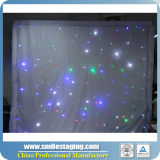 LED Star Cloth LED cortina de estrellas LED Star telón de fondo cortinas