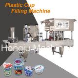 水コップのための自動詰物およびシーリング機械