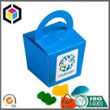 Лоснистым напечатанная цветом коробка конфеты бумаги картона щипца упаковывая