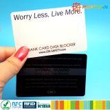 Carte de crédit bancaire / carte de débit Protecteur MIFARE DESFire EV1 carte de blocage RFID intelligente