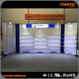 Cabine de alumínio da configuração do carrinho do sistema da feira profissional feita sob encomenda