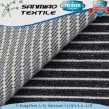 Indigo Blue hilados de distintos colores a rayas pesado de sarga de lana Denim
