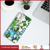 Neue Stickerei 3D blüht ledernen Telefon-Kasten für iPhone 8