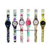 Reloj unisex del juguete de la venta de los relojes analogicos calientes del silicón colorido