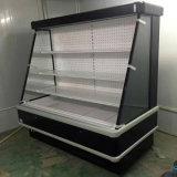 Refrigerador vegetal comercial da face aberta opcional da cor para o supermercado
