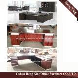 (HX-5N080) Meubles de bureau modernes noirs et blancs de bureau de gestionnaire
