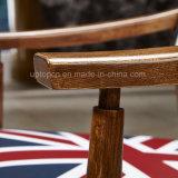 Caffè di legno di cuoio ricoperto di Fram che pranza presidenza (SP-EC653)