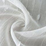 Ткань занавеса классического Linen маркизета жаккарда отвесная