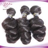 De fábrica do preço cabelo frouxo Mongolian desenhado da onda mais densamente dobro por atacado