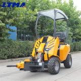 中国4WD実用的な庭の販売のための小さい車輪のローダー