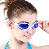 女性の紫外線保護安全CPの水泳ガラス