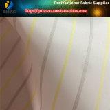 Tela da listra do forro da luva do poliéster para o vestuário (S53.54)
