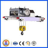L'élévateur électrique de poussée de câble métallique, tendent le cou petit