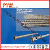Винт и бочонок для машин пластичной пленки PE PVC дуя