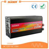 AC 220V 힘 변환장치 (HAD-2500C)에 충전기 DC 24V를 가진 Suoer 고품질 2500W
