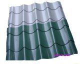 Folha vitrificada PVC do telhado que faz a linha