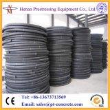 Dut напрягая Corrugated HDPE столба круглое и плоское пластичное