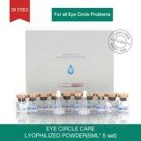 Reduzir a curvatura epidérmica e o pó liofilizado anti anti cuidado do círculo do olho do cuidado de pele do olho dos enrugamentos da multa do Puffiness dos círculos da obscuridade da fraqueza ajustado