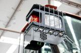Maquinaria nova do carregador da roda do Ensign do projeto 6ton com certificado do Ce