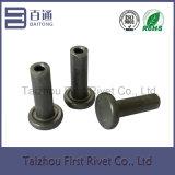 4.85X17.5mmの平野カラー半管状の鋼鉄リベット