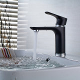 Flg Spray Paint Black Chrome Finished Waterfall Faucet