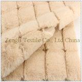 Полиэфир 100% блока шерстяной ткани шинели