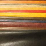 Het in het groot Zachte Synthetische Leer Van uitstekende kwaliteit van Pu voor het Meubilair van Schoenen (E6086)