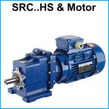 Geflanschtes Motor Zwei-Positioniertes Geschwindigkeits-Verkleinerungs-schraubenartiges Getriebe-Reduzierstück Src01