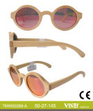 Italien-Entwurfs-Form-hölzerne Sonnenbrillen mit Cer und FDA (269-A)
