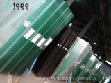 18m Longth 3mm-19mm Espesor Bajo Hierro Ultra-claro Float Glass Vs vidrio plano para el puente (UC-TP)