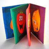 Livro de pano educacional para bebês de alta qualidade