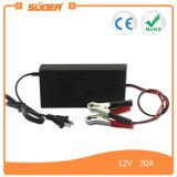Cargador de batería universal del cargador rápido elegante de Suoer (SON-1220B)