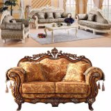 يعيش غرفة أريكة مع خشبيّة أريكة إطار ([929ن])