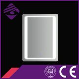 正方形のタッチ画面のLEDによってバックライトを当てられる溝を彫られた端LEDの浴室ミラー