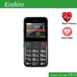 Emplacement santé Téléphone portable avec fréquence cardiaque Moniteur d'oxygène sanguin