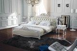 寝室の家具の革柔らかいベッド(SBT-5870)