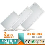 Luz de painel do diodo emissor de luz do poder superior 72W 1200*600mm