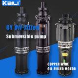 pompa di miniera (a più stadi) sommergibile Oil-Filled della pompa delle acque pulite della pompa di 15HP QY