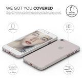 Cubierta transparente helada delgada de la caja del teléfono de los PP para el iPhone 7