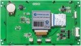 module de l'affichage à cristaux liquides 7 '' 800*480 avec l'écran tactile résistif pour l'usage d'ingénierie