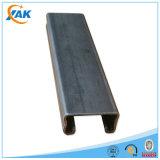 Canal plateado cinc perforado del puntal del grado y de acero C