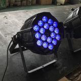 Indicatore luminoso della fase di PARITÀ LED del professionista 18X10W RGBW 4in1