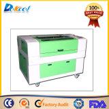 Hochgeschwindigkeitsplastik, Acryl, Papier, Leder, Gummi-CO2 Laser-Gravierfräsmaschine und Laser-Ausschnitt-Maschine