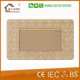 Interruptor ligero del control de la voz de la pintura 110V~250V del mosaico